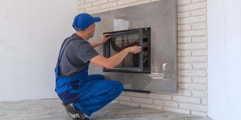 z2 engineering fireplace installation