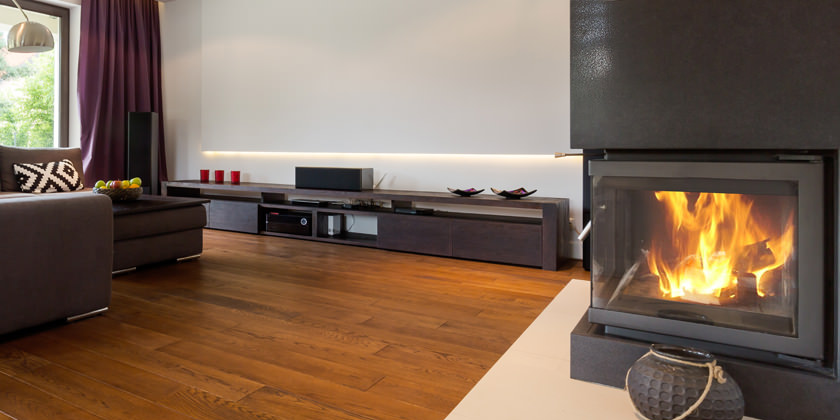z2 engineering gas fire installed